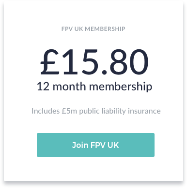 Widget designed for FPV UK to increase conversions